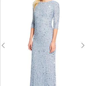 Adrianna Papell Heavily Beaded Dress